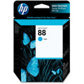 HP 88 Cyan Original Ink Cartridge C9386AN