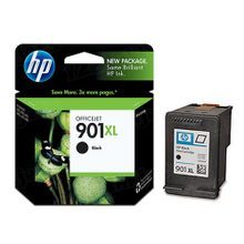 Original HP 901XL Black Ink Cartridge in Retail Packaging (CC654AN) High-Yield