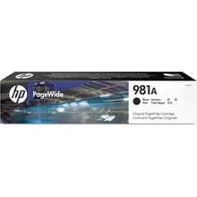 Original HP 981A Black Ink Cartridge in Retail Packaging (J3M71A)