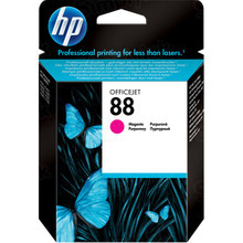 Original HP 88 Magenta Ink Cartridge in Retail Packaging (C9387AN)