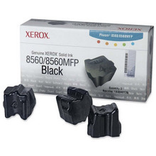 OEM Xerox 108R00726 / 108R726 Black Solid Ink 3-Pack