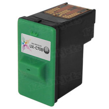 Remanufactured Sharp UX-C70B Black Ink Cartridges