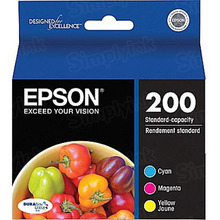 Original Epson 200 C/M/Y Ink Cartridge 3-Pack, T200520