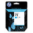 Original HP 72 Cyan Ink Cartridge in Retail Packaging (C9398A)