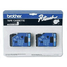 Brother TC12 Blue on Clear OEM 1/2 Label Tape