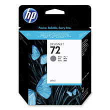 Original HP 72 Gray Ink Cartridge in Retail Packaging (C9401A)