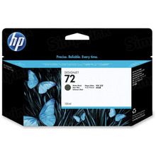 Original HP 72 Matte Black Ink Cartridge in Retail Packaging (C9403A) High-Yield