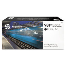 Original HP 981Y Extra High Yield Black Ink Cartridge in Retail Packaging (L0R16A)