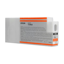 Original Epson T596A00 Orange 350 ml Inkjet Cartridge (T596A)