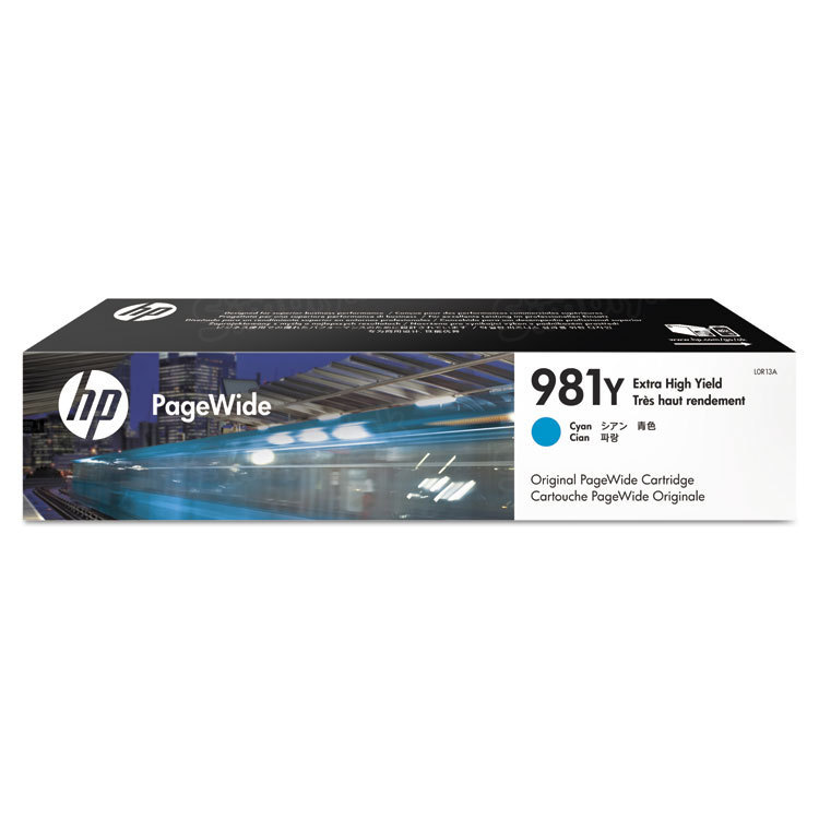 HP 981Y Extra High Yield Cyan Original Ink Cartridge L0R13A