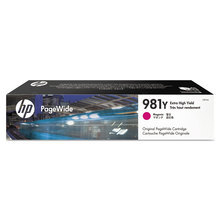 Original HP 981Y Extra High Yield Magenta Ink Cartridge in Retail Packaging (L0R14A)