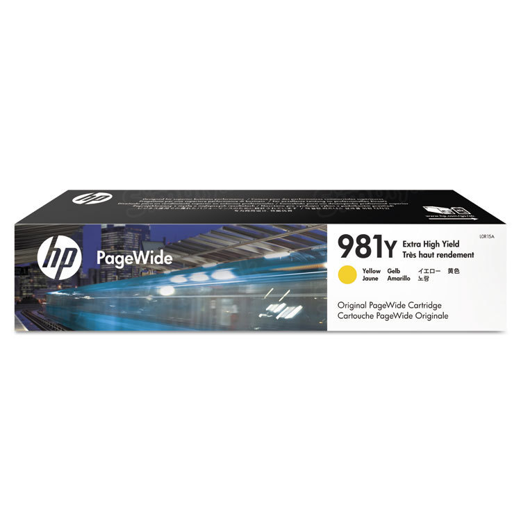 HP 981Y Extra High Yield Yellow Original Ink Cartridge L0R15A
