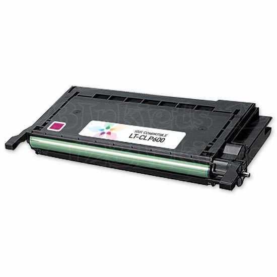 Compatible Alternative to Samsung CLP-M600A Magenta Toner for the CLP-600, CLP-650
