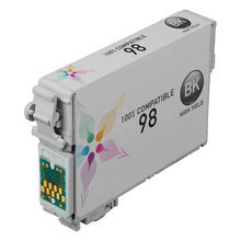 Remanufactured Epson T098120 (T0981) High Yield Black Ink Cartridges