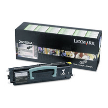 Lexmark OEM Black Return Program Laser Toner Cartridge, 24015SA (E232/E240/E330/E332/E340/E342 Series) (2.5K Page Yield)