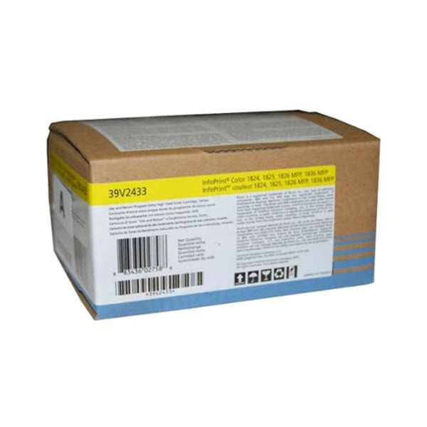 OEM IBM 39V2433 yellow Toner Cartridge