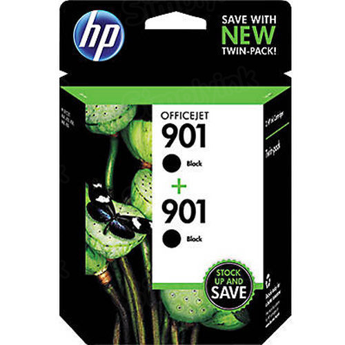 Original HP 901 Black Ink Pack CZ075FN