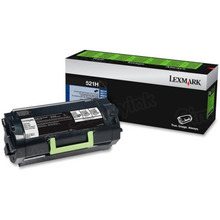 Lexmark OEM High Yield Black Return Program Laser Toner Cartridge, 52D1H00 (MS810/MS811/MS812 Series) (25K Page Yield)