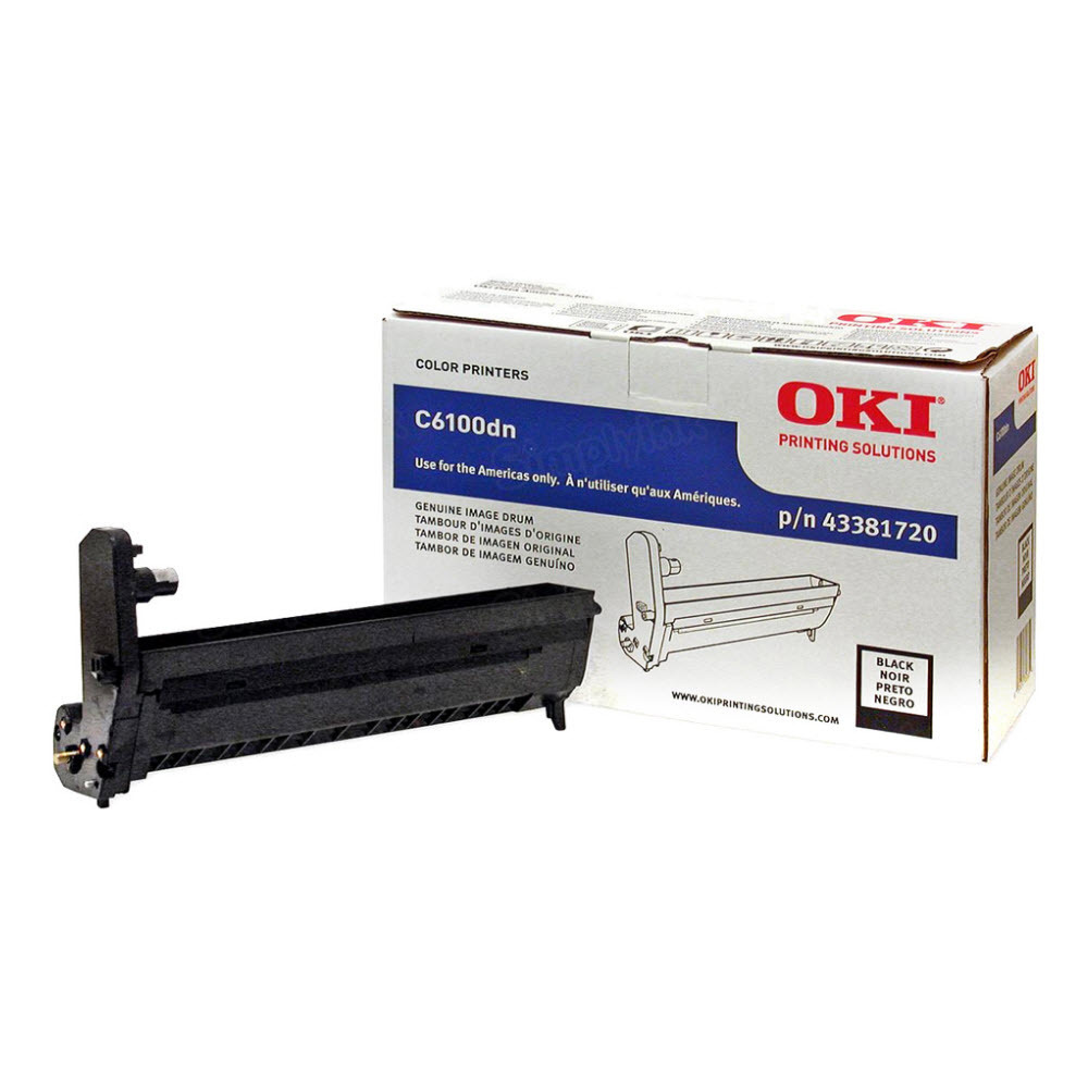 OEM Okidata Type C8 Black Drum