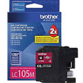 Brother LC105M Magenta OEM High-Yield Ink Cartridge