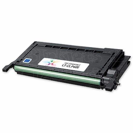 Compatible Alternative to Samsung CLP-C600A Cyan Toner for the CLP-600, CLP-650
