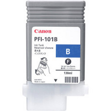 Canon PFI-101B Blue OEM Ink Cartridge, 0891B001AA