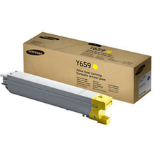 OEM Samsung CLT-Y659S Yellow Laser Toner Cartridge 15K Page Yield