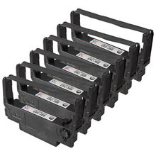 Compatible Epson ERC-38B Black 6 Pack POS Ribbons
