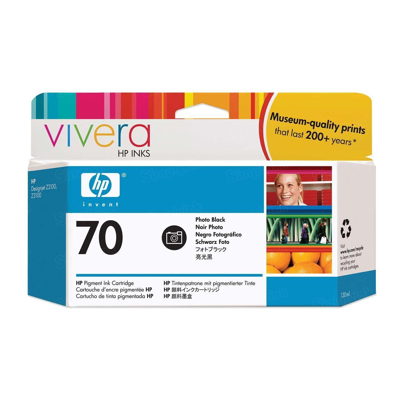 HP 70 Photo Black Original Ink Cartridge C9449A