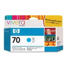 Original HP 70 Cyan Ink Cartridge in Retail Packaging (C9452A)