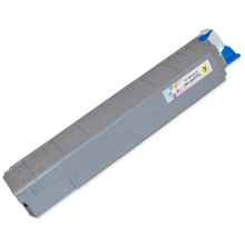 Compatible Okidata 43487733 Yellow Laser Toner Cartridges for the Oki C8800 6K Page Yield