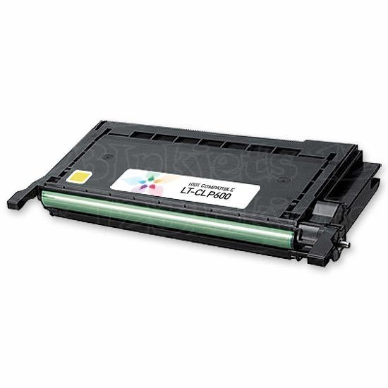 Compatible Alternative to Samsung CLP-Y600A Yellow Toner for the CLP-600, CLP-650