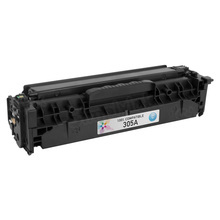 Replacement for HP 305A Cyan Laser Toner (CE411A)