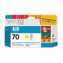 Original HP 70 Yellow Ink Cartridge in Retail Packaging (C9454A)
