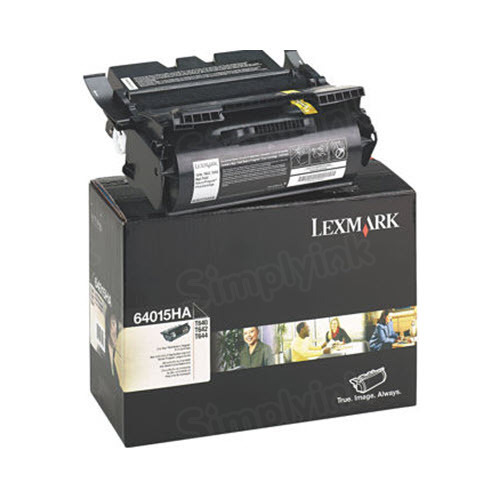 Lexmark Original HY Black Toner, 64015HA