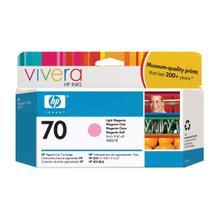 Original HP 70 Light Magenta Ink Cartridge in Retail Packaging (C9455A)