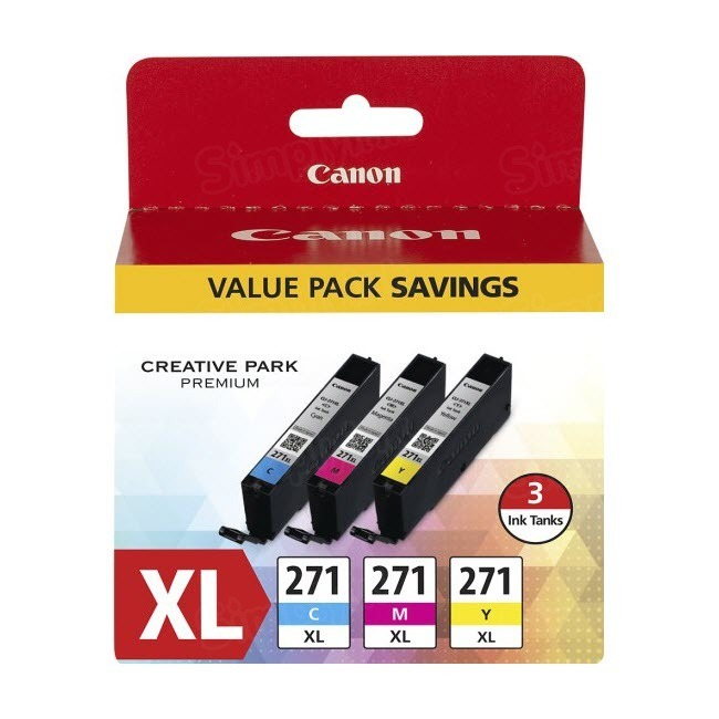 Canon OEM 0337C005 (CLI-271XL) High-Yield Multipack Ink Cartridge