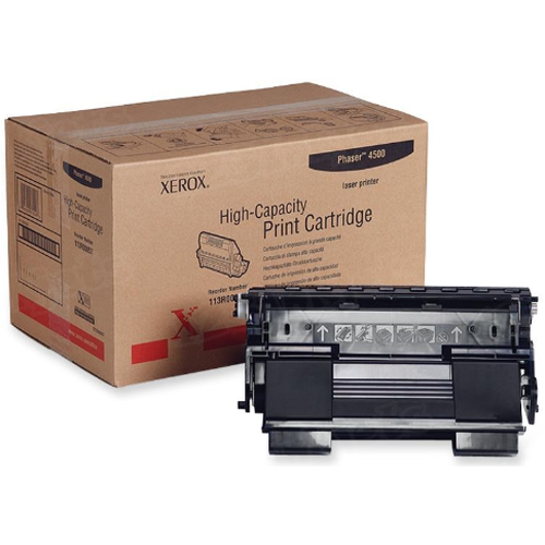 Xerox 113R00657 (113R657) HY Black OEM Toner Cartridge