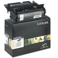Lexmark OEM Extra High Yield Black Return Program Laser Toner Cartridge, 64415XA (32K Page Yield)