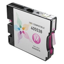 Compatible Ricoh 405538 (GC 21MH) High-Yield Magenta Ink Cartridges