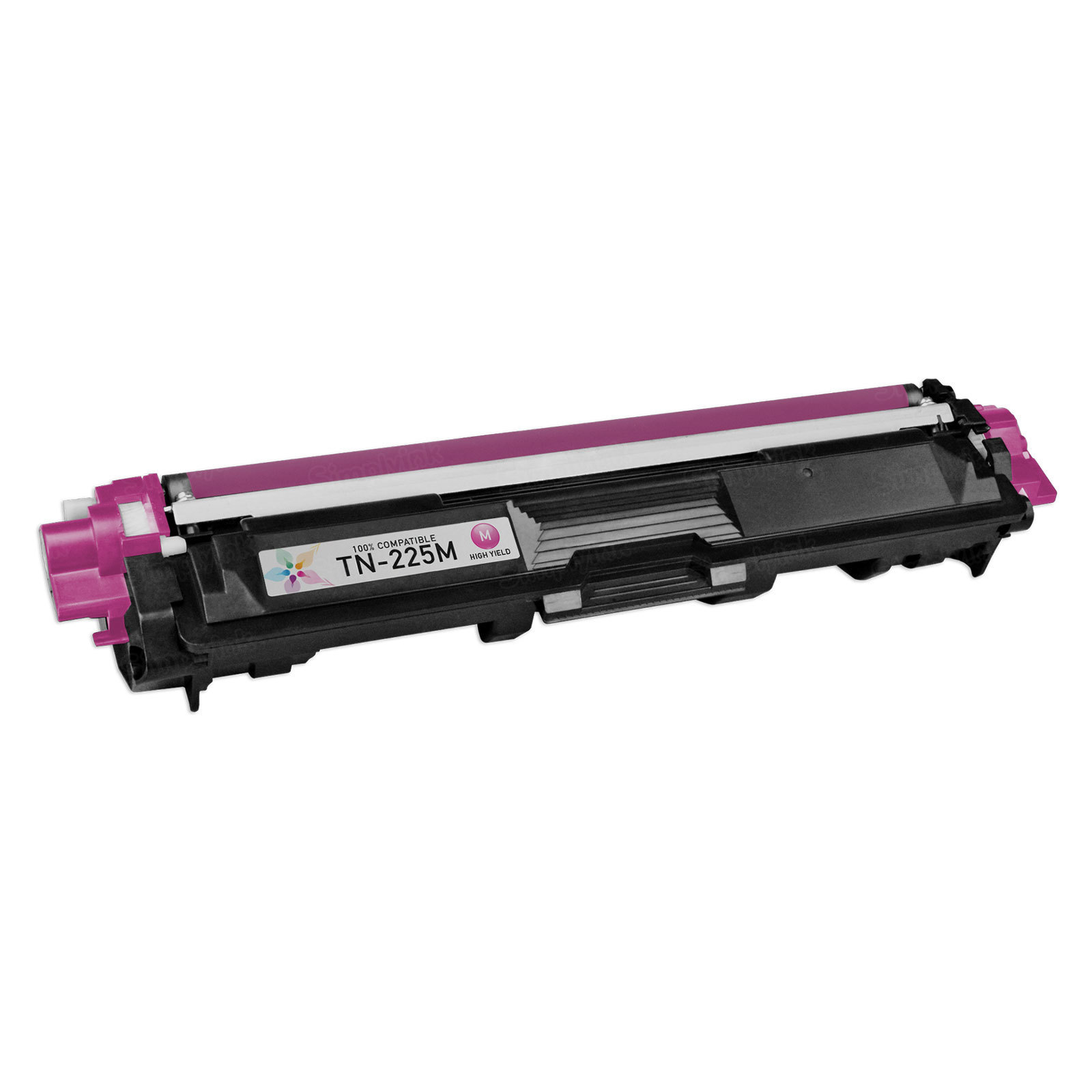 Compatible TN225M High Yield Magenta Toner Cartridge for Brother