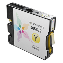 Compatible Ricoh 405539 (GC 21YH) High-Yield Yellow Ink Cartridges