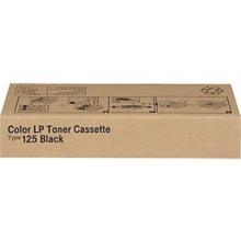 OEM Ricoh 400963 Black Laser Toner Cartridge, Type 125