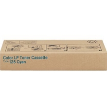OEM Ricoh 400969 Cyan Laser Toner Cartridge, Type 125