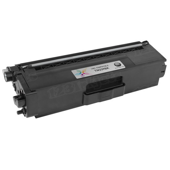 Compatible TN339BK Super HY Black Toner Cartridge for Brother
