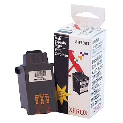 Xerox 8R7881 Black OEM Ink Cartridge
