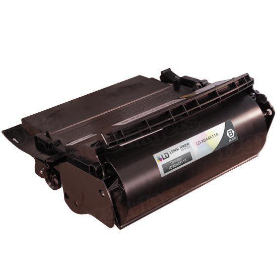 Remanufactured X644X11A Extra HY Black Toner Cartridge for Lexmark