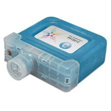 Compatible Canon PFI-301C Pigment Cyan Ink Cartridges