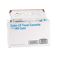 OEM Ricoh 402071 Cyan Laser Toner Cartridge, Type 140