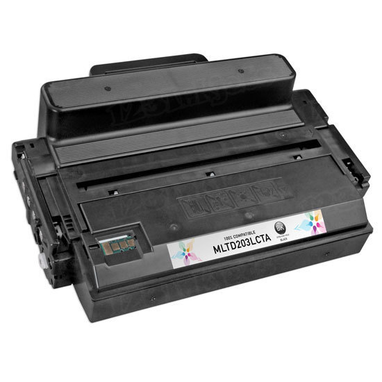 Compatible Extra High Yield Black Toner for Samsung (MLT-D203E)